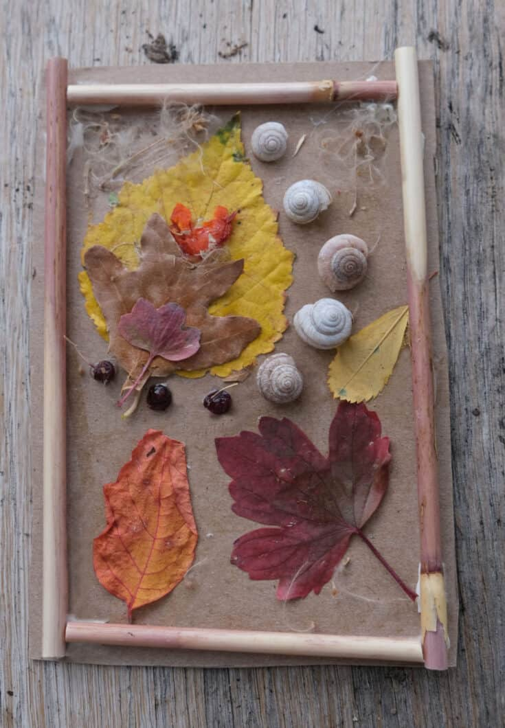 nature craft thats cheap and easy for toddlers or big kids