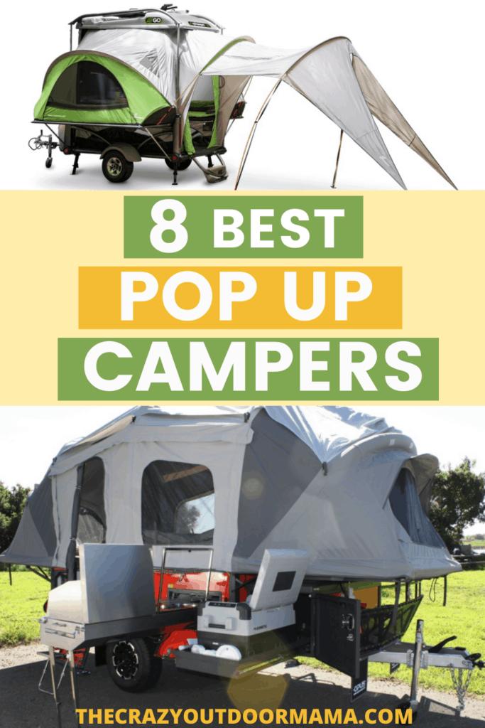 8 best pop up campers