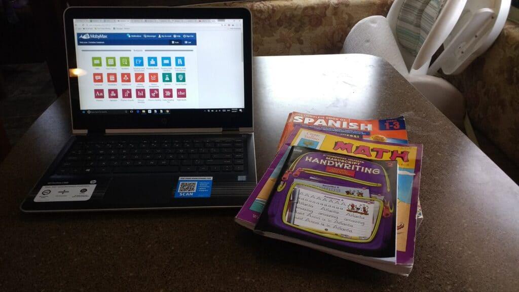 homeschooling options online for fulltime roadschooling families
