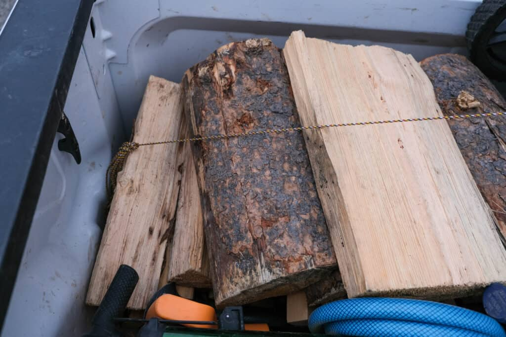 good firewood storage ideas with beyond bungee