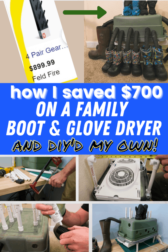 diy boot tutorial for families cheap