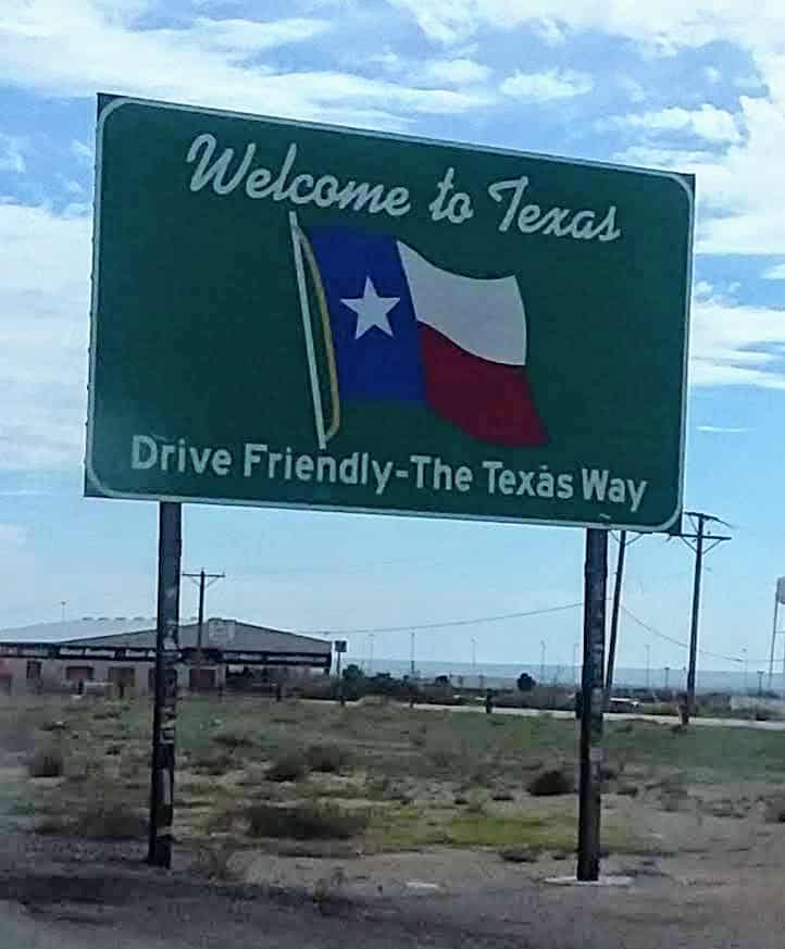 texas is a common state for roadschoolers  to claim