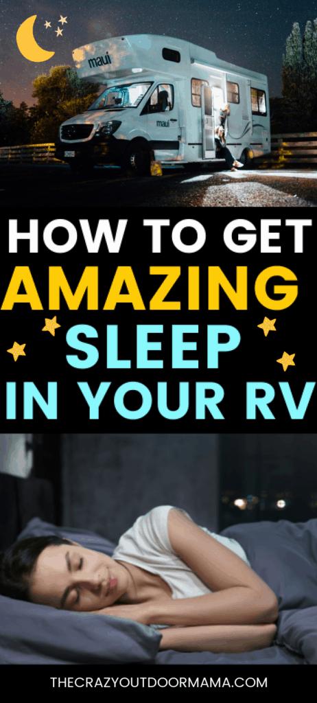 how to improve rv sleep replacing rv mattress
