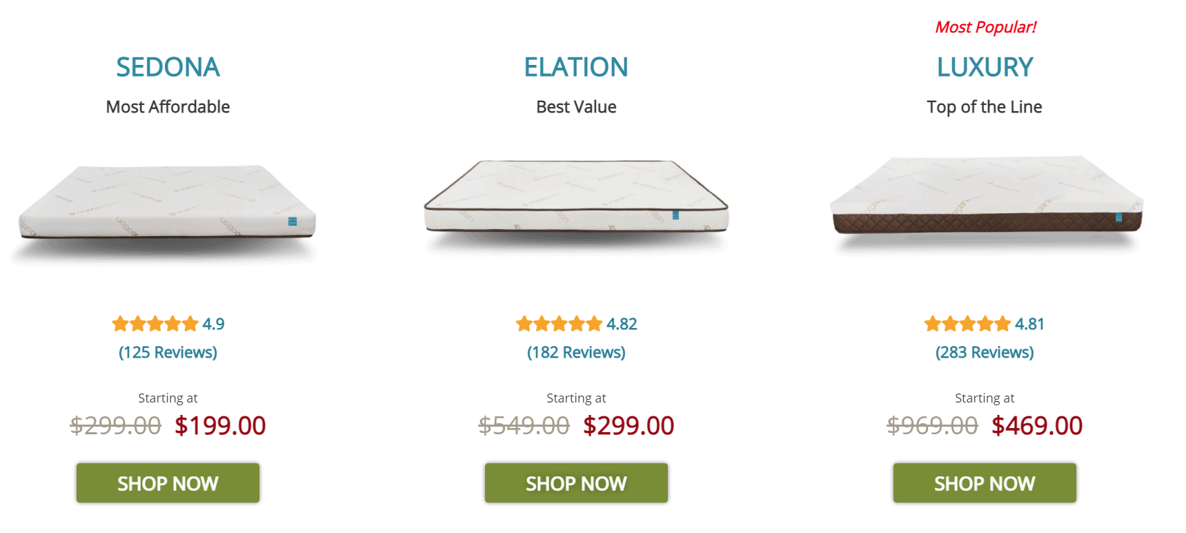 easy rv mattress replacement website with custom options