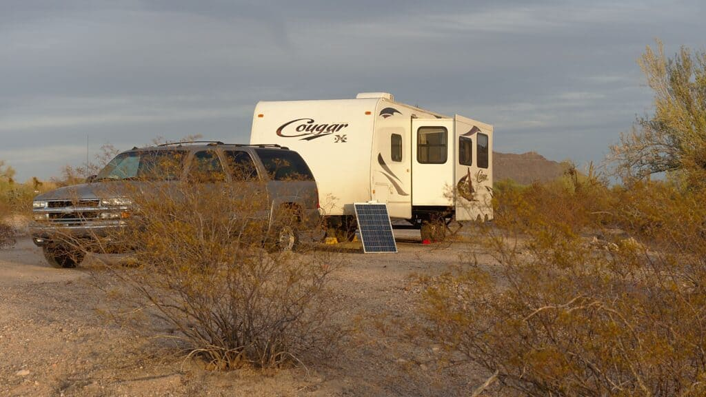 boondocking to save money for roadschooling