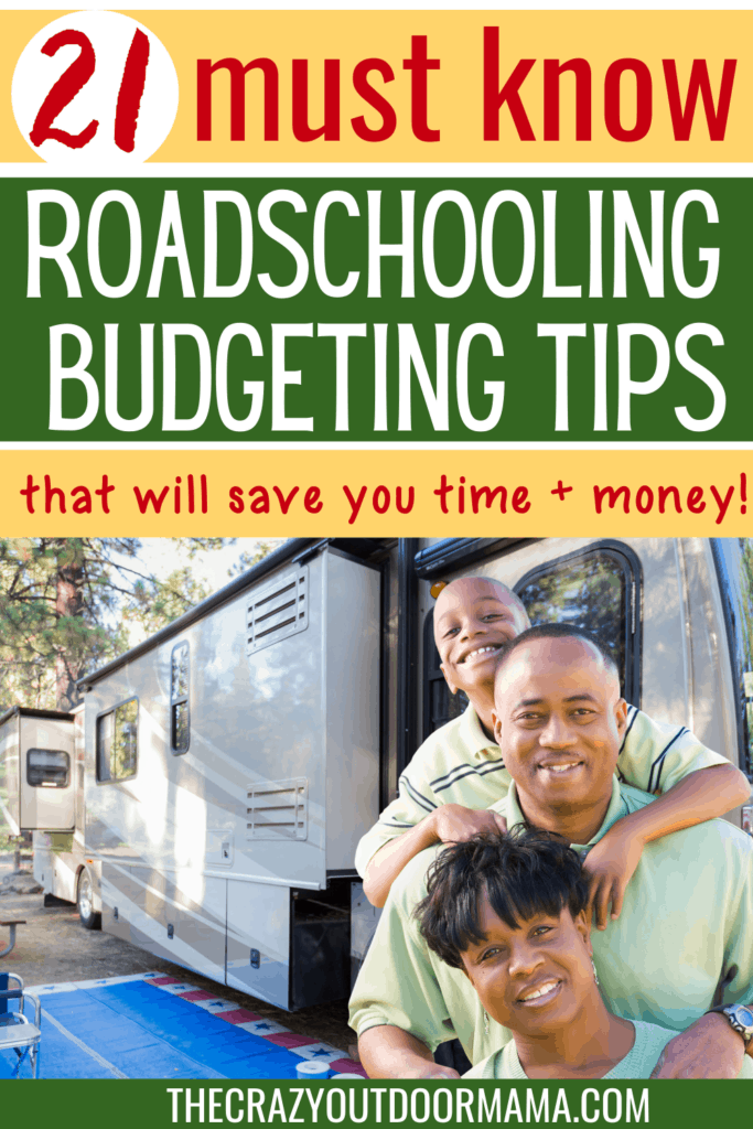 how to budget and afford roadschooling