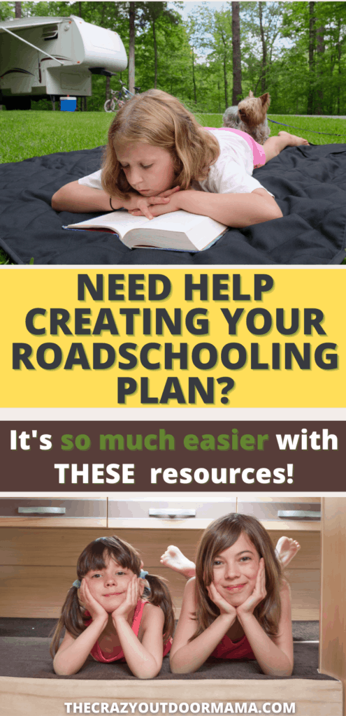 need help creating your roadschooling plan? its so much easier with these resources that help socialization, handwriting, learning on the go, and adding real experiences to your curriculum