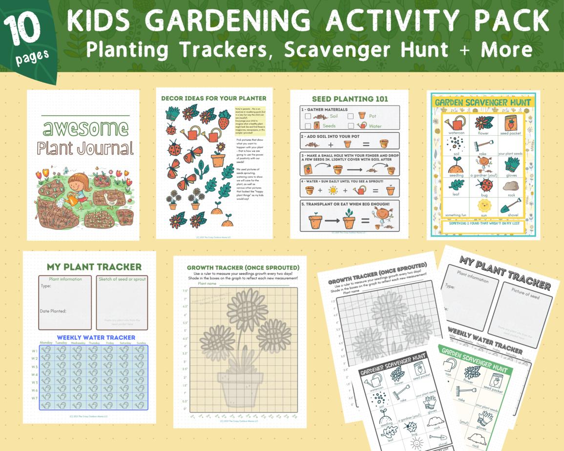 Deluxe Version Gardening Activity Pack