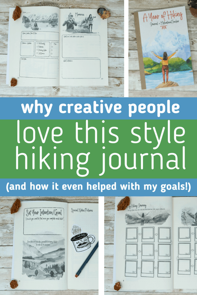 hiking journal for women hiking must have