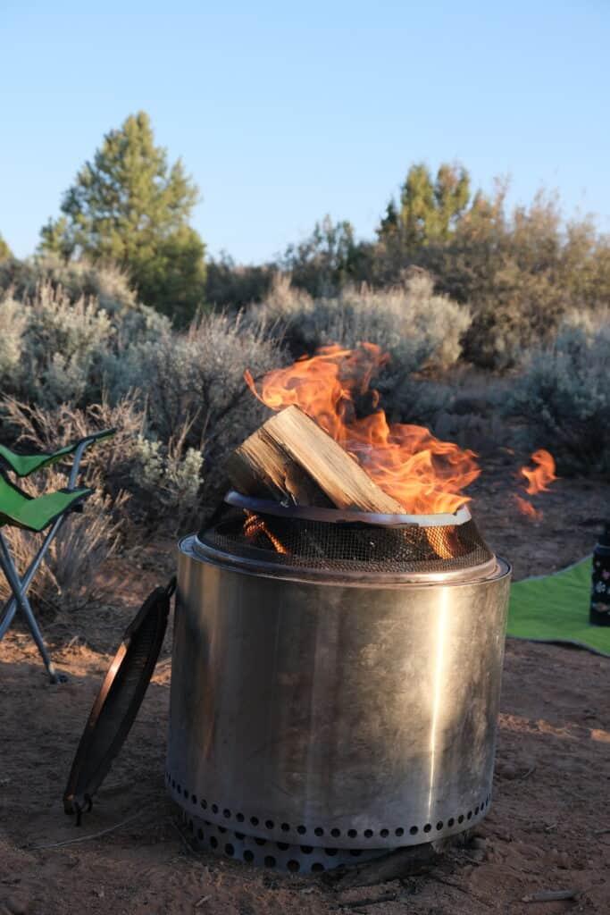 solo stove portable campfire good for leave no trace