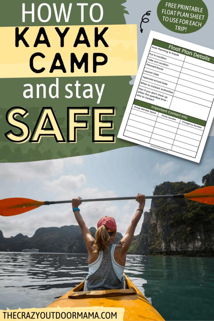 KAYAK CAMPING SAFETY TIPS