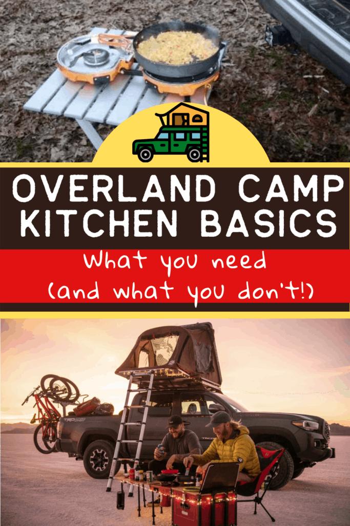 overland kitchen basics
