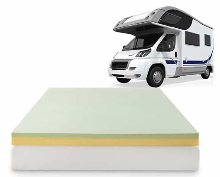 prime deal rv memory foam mattress