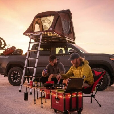 how to cook while overland camping