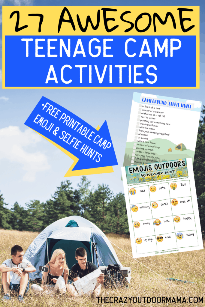 game and activity ideas for summer camp