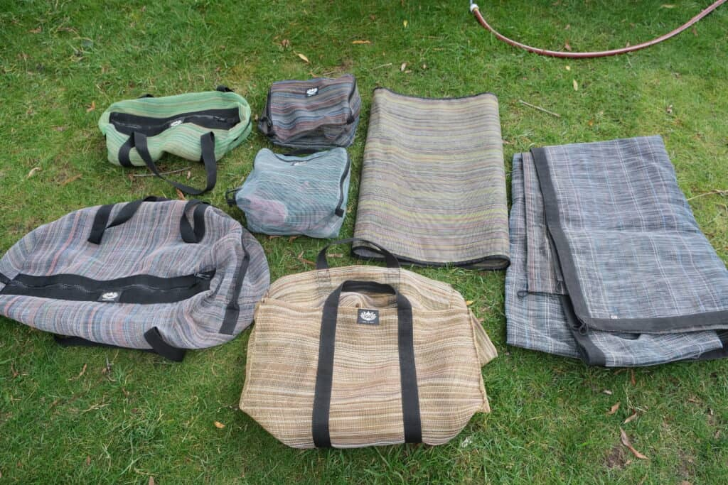 sand free mats for camping and rv