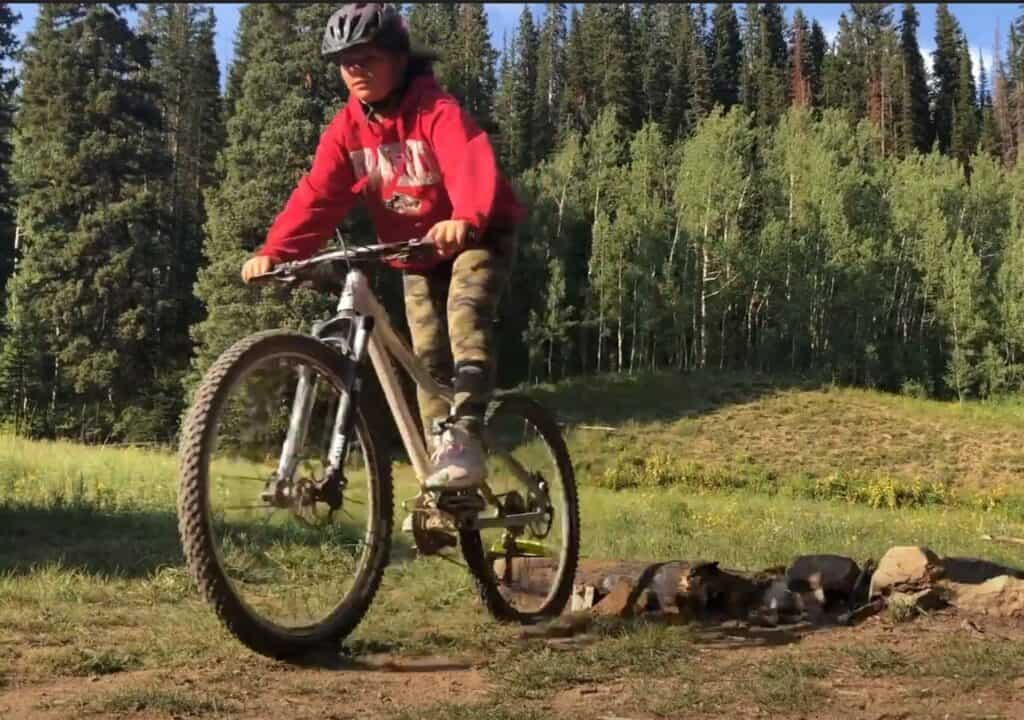 bike riding is a good activity for teenage campers