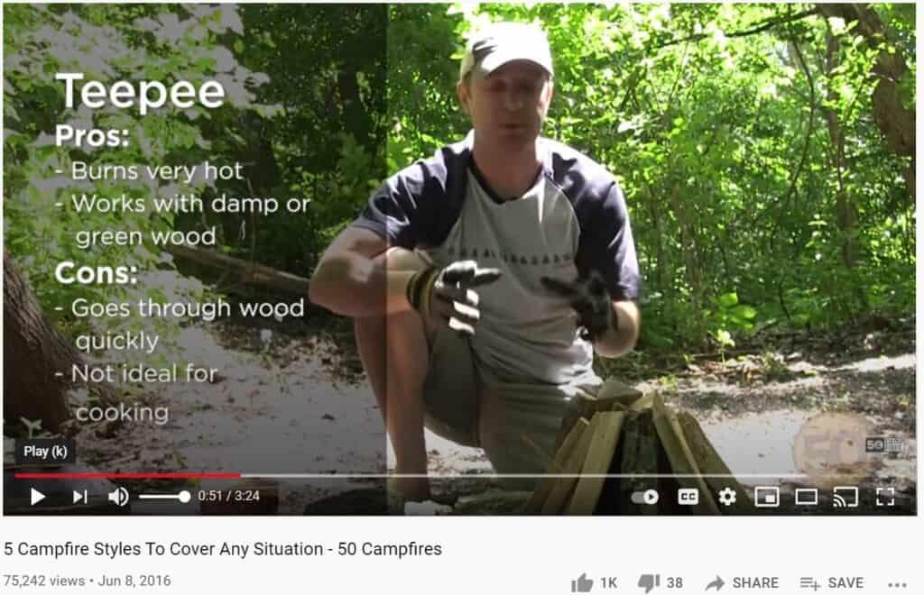 campfire activities for teens