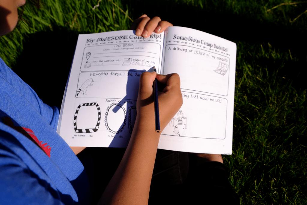 camp journal activities for teens