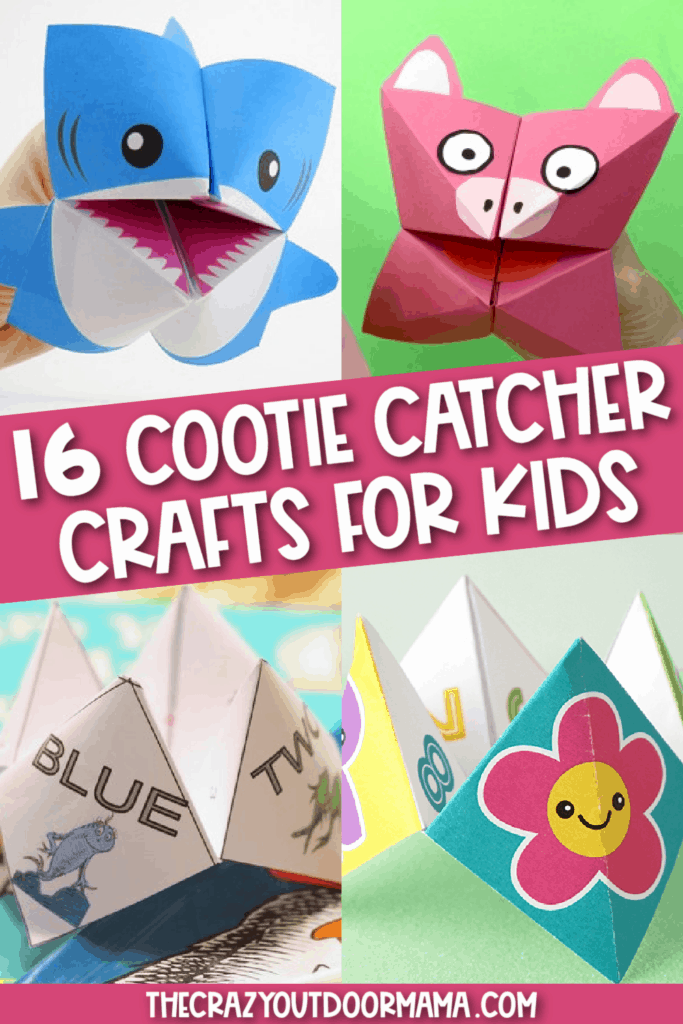 cute ideas for cootie catcher gemes for kids animals and fun questions