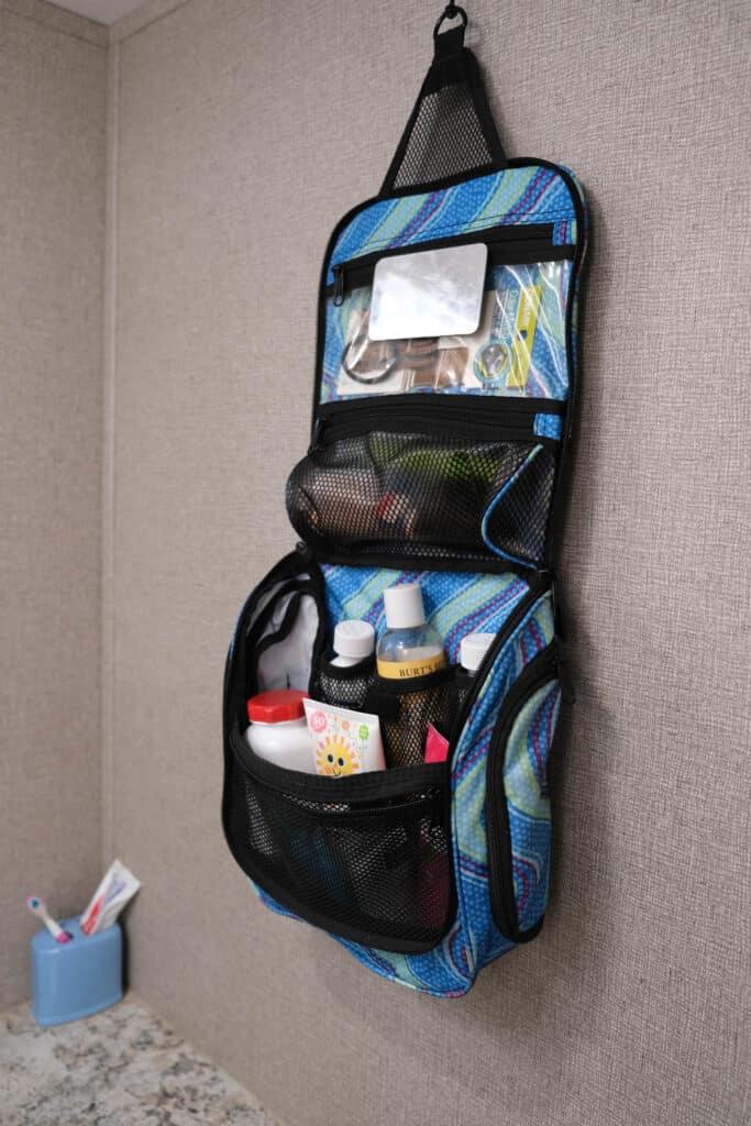 travel bag for use in camper