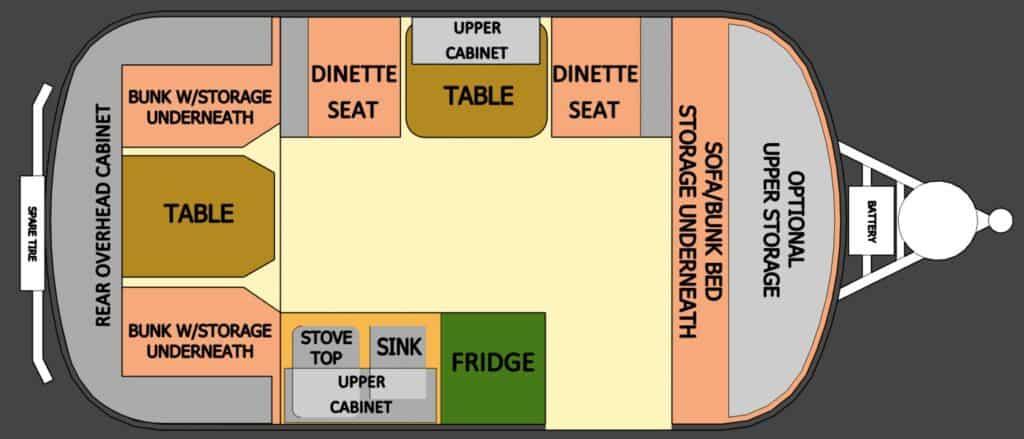 16 ft scamp floor plan