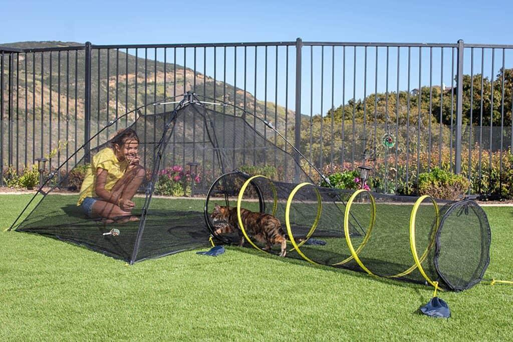 outdoor cat tent