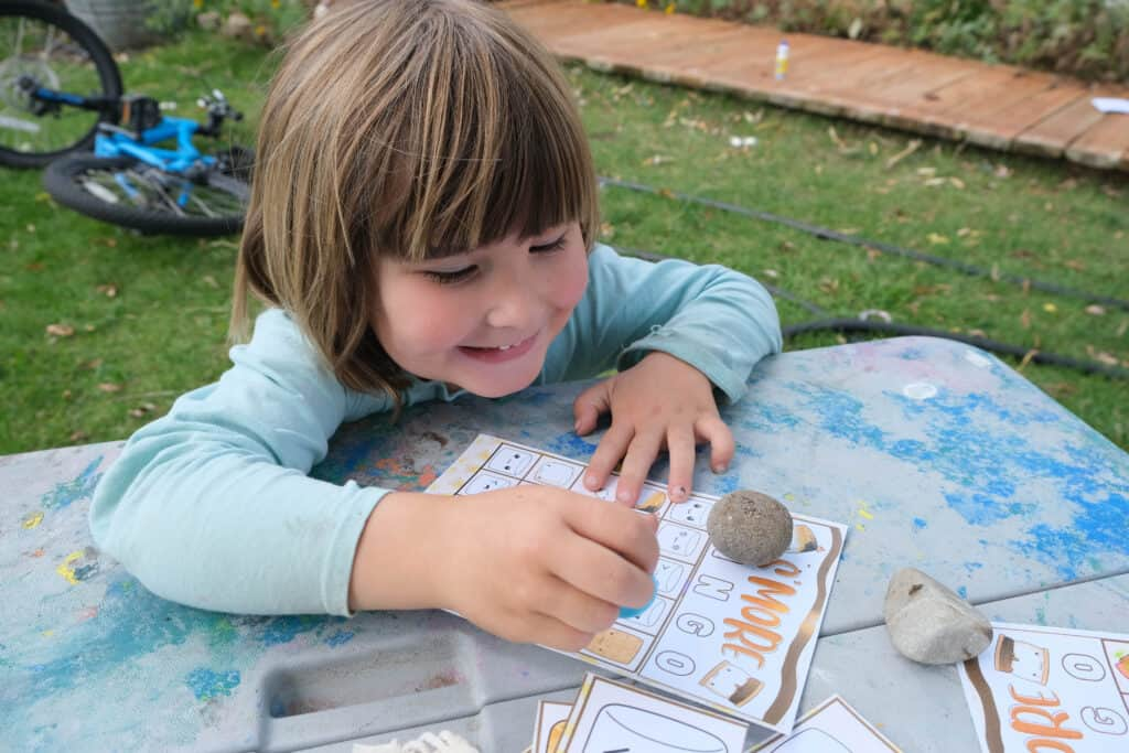 fun printable game for camping with kids