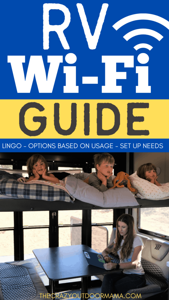 RV WIFI GUIDE WHILE CAMPING