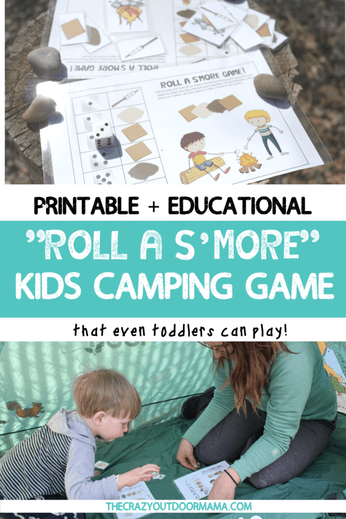printable and educational smore camping game for kids